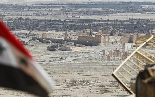 Russian mine-clearing team arrives in Syria's Palmyra