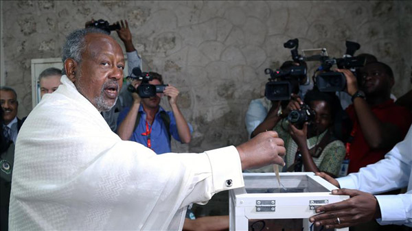 Djibouti's incumbent President Guelleh wins election