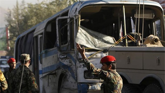 12 killed in Taliban attack on Afghan army recruits