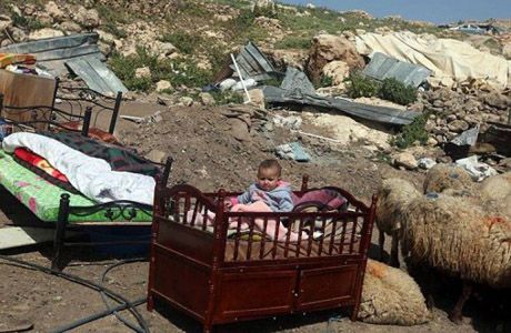 Israel destroyed 523 Palestinian structures in 3 months
