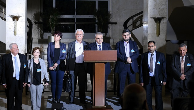 Syrian opposition calls for stopping Assad