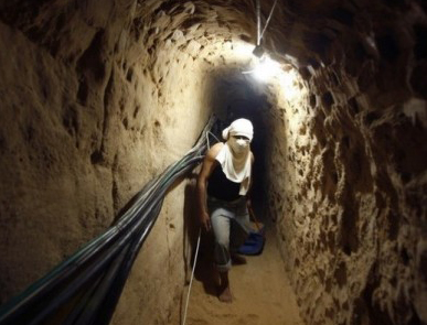 Israeli army uncovers Gaza tunnel stretching into Israel