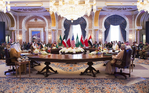 Gulf leaders begin summit with Obama