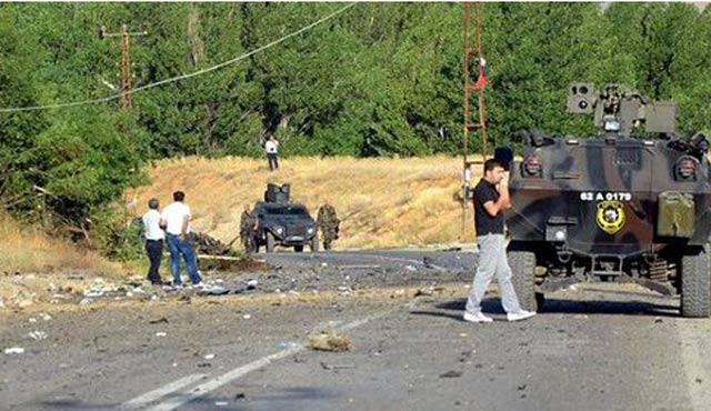 2 soldiers, civilian injured in E Turkey PKK attack