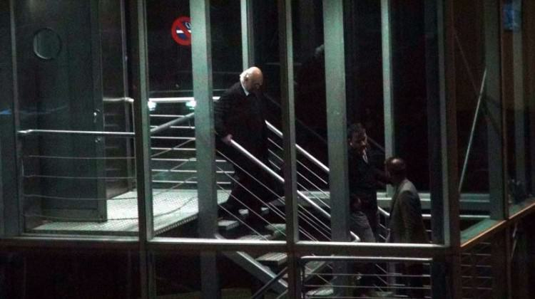 Disgraced Turkish Cypriot millionaire arrives home