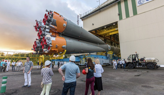 Europe makes 4th attempt to launch Russian rocket