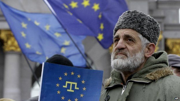 EU slams ban on Crimean Tatar Mejlis