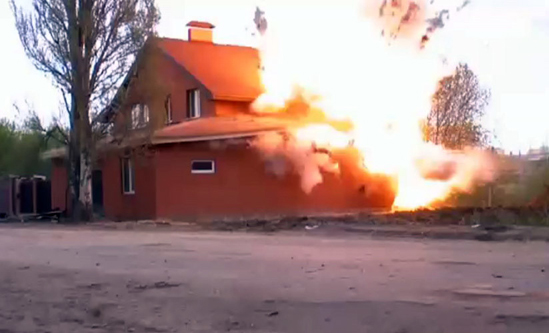 Russian Muslim hall destroyed over 'illegal' pretext