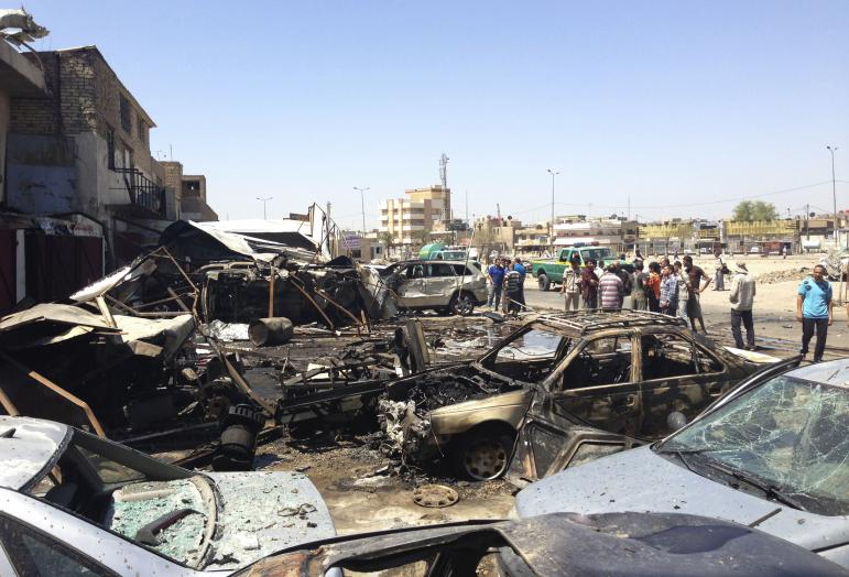 Death toll from car-bomb attack in S. Iraq hits 36