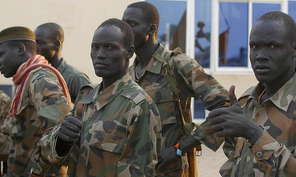 Row over rebel troops threatens S. Sudan's peace