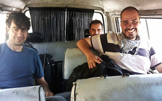 Journalists abducted in Syria last year return to Spain