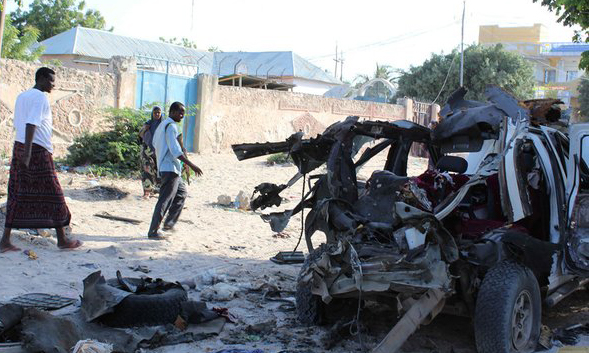 Turkey condemns twin suicide blasts in Somalia capital
