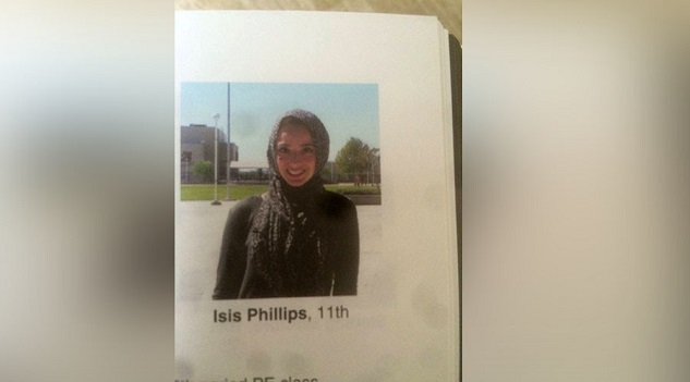 US Muslim student labeled 'ISIS' in yearbook