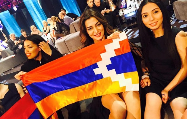 Flag stunt leads to Eurovision censure of Armenia