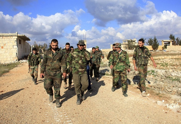Opposition forces seize village in Syria's Hama