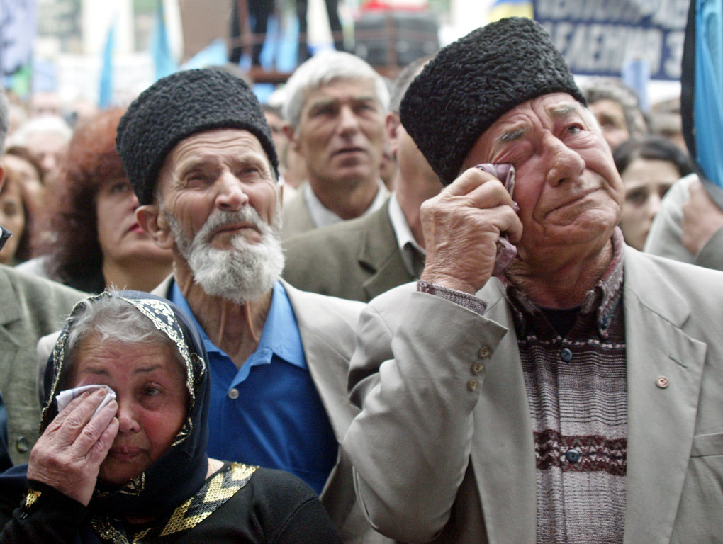 Turkey recalls 1944 ethnic cleansing of Crimean Tatars