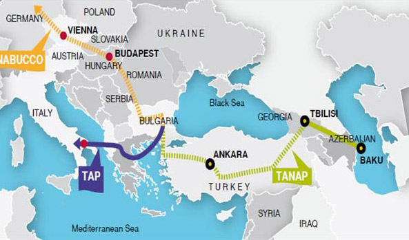 Greek PM inaugurates TAP gas pipeline