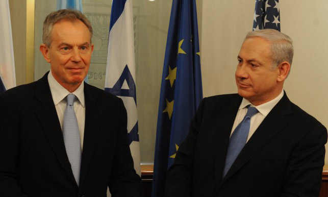Blair, Sisi engineered push for Zionist Union into Likud