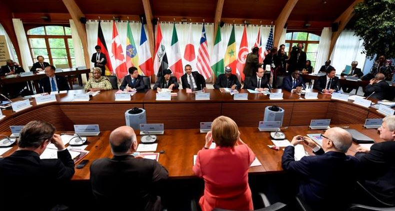 World economy is an 'urgent priority' for G7 leaders