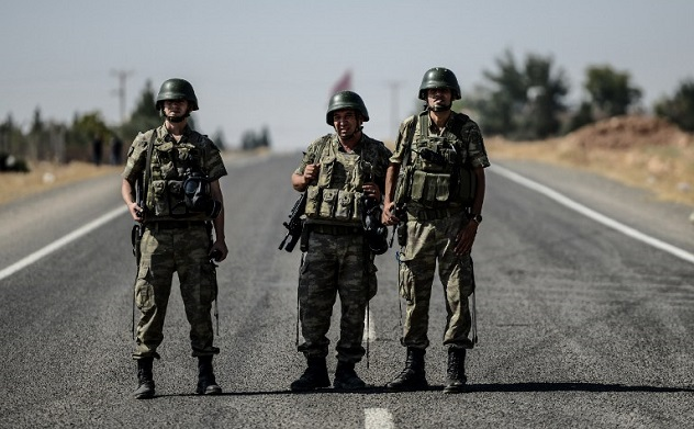 Free Syrian Army wants Turkish soldiers 'only'
