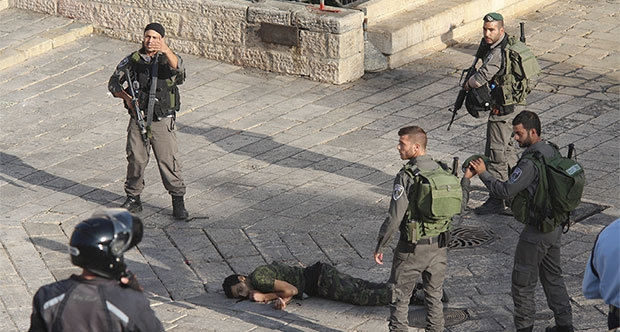 New images of execution by Israeli troops