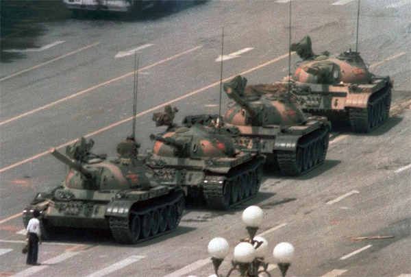 Tiananmen square massacre remembered