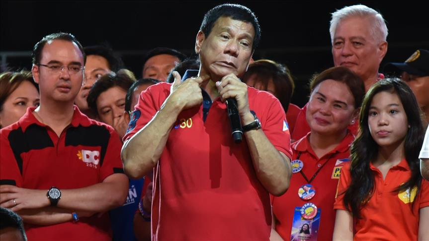 Incoming Philippines president lauded as Muslim ally