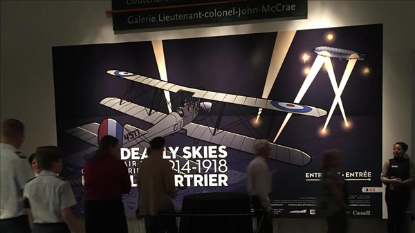 Exhibition in Canada features WWI Ottoman pilots