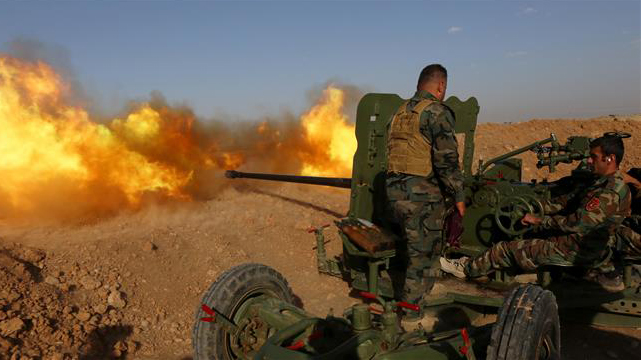 Mosul offensive provides a pre-election boon for Obama