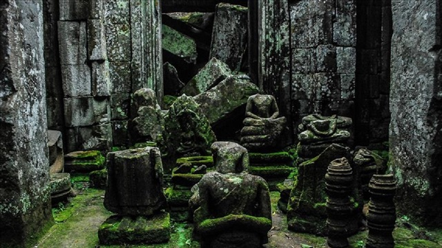 Laser scans unearth mysteries of Khmer empire