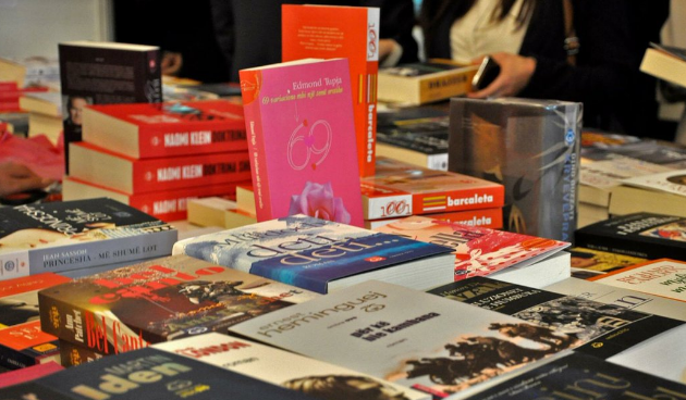 A book fair in Kosovo's capital of Pristina