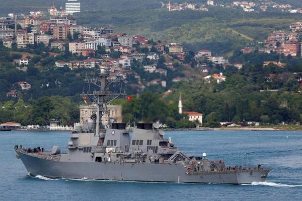 US to maintain Black Sea presence to deter Russia