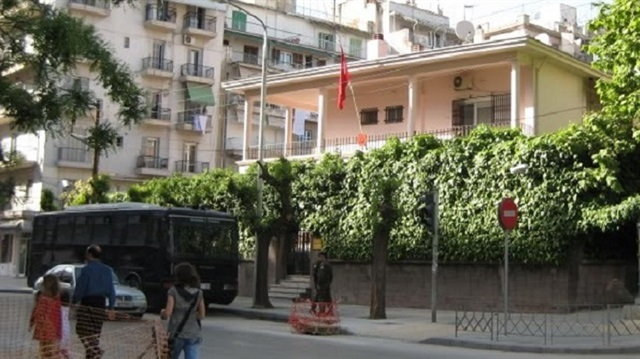 Petrol bomb thrown at Turkish Consulate in Greece