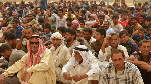 Thousands flee Iraq's Fallujah as fighting rages on