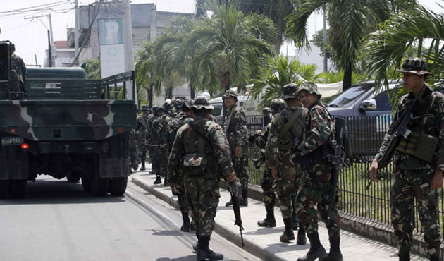 Philippines army: 4 extremists killed on eve of ceasefire