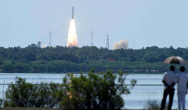 India launches 20 satellites in record-breaking mission