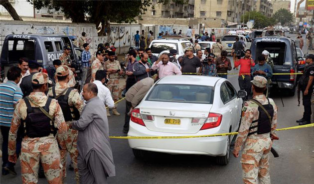 Suicide bomber killed in foiled attack in Pakistan