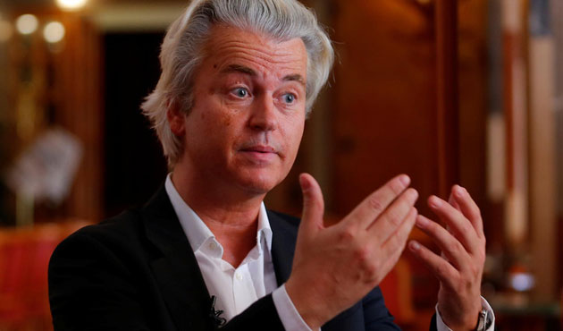 Dutch far-right MP Wilders calls for referendum on EU