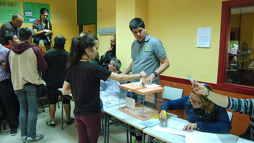 Spaniards head to polls for 2nd time in 6 months