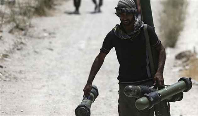'Weapons of Syrian opposition sold on black market'