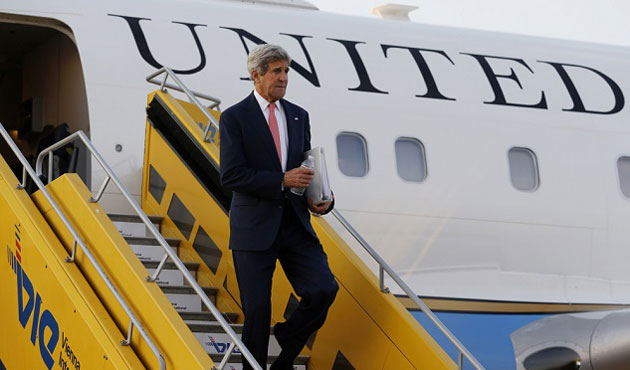 Kerry in Oman for Yemen peace talks