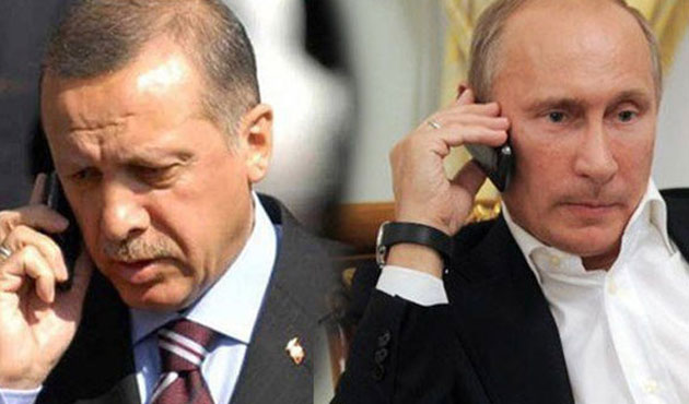 Erdogan in 'positive' phone call with Putin