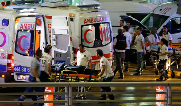 Istanbul airport terror attack death toll rises to 43