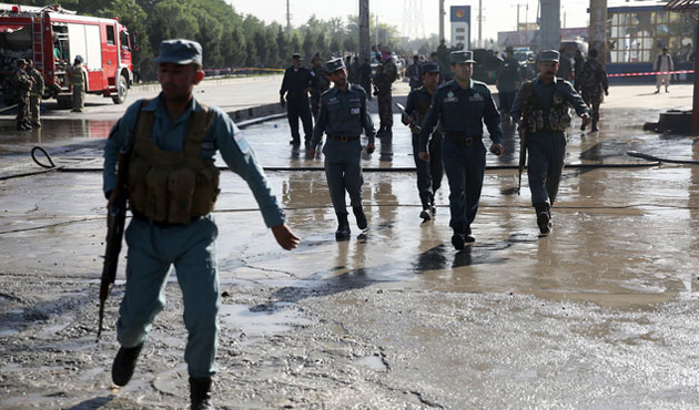 Extremist attack police buses in Kabul, dozens feared dead