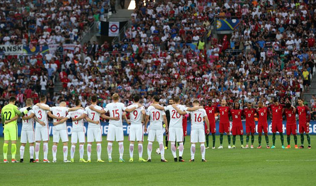 Istanbul attack victims remembered at Euro 2016 match