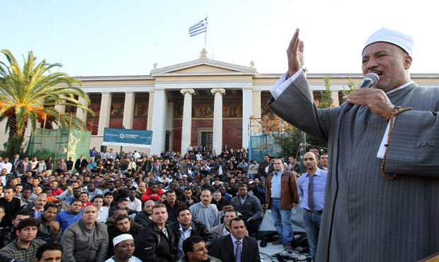 Athens mosque remains in limbo as Muslims mark Eid