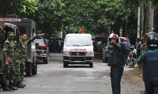 2 cops among 3 killed in extreme attack in Bangladesh