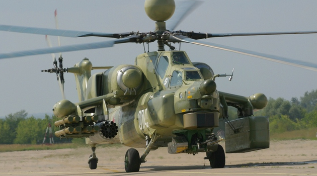 Baghdad receives new batch of Russian attack helicopters