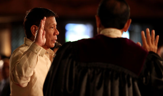 Philippines' Duterte names ex-rights lawyer as spokesman