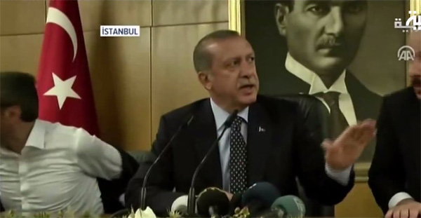 Erdogan targeted in assassination attempt